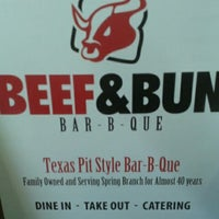 Photo taken at Beef & Bun Bar-B-Q by Supafly G. on 11/19/2011