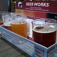 Photo taken at Salem Beer Works by alex b. on 5/10/2011