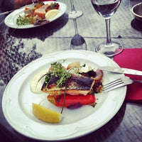 Photo taken at Strampen Restaurant & Terrace by Jonas F. on 7/25/2012