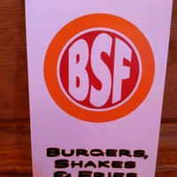 Photo taken at Burgers, Shakes & Fries by Jared K. on 8/22/2012