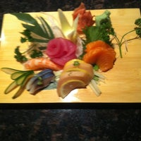 Photo taken at Sake Japanese Sushi by Yuki L. on 7/27/2011