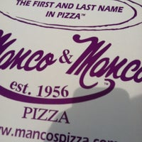 Photo taken at Manco & Manco Pizza by Sparky J. on 7/26/2012