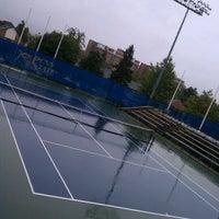 Photo taken at Sarni Tennis Facility by Scott I. on 9/6/2011