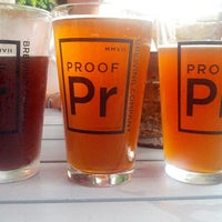 Photo taken at Proof Brewing Company by Arielle M. on 8/9/2012