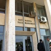 Photo taken at Famagusta District Court by Ahmet D. on 3/27/2012