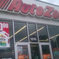 Photo taken at AutoZone by Mitch Rich-Boy J. on 5/17/2012