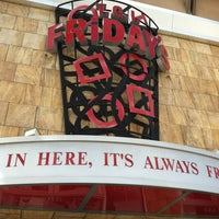 Photo taken at TGI Fridays by Daniel H. on 3/26/2012