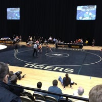 Photo taken at Hearnes Center by Zach M. on 3/3/2012