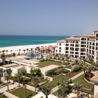 Photo taken at The St. Regis Saadiyat Island Resort by Junaid S. on 9/8/2012