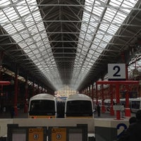 Photo taken at London Marylebone Railway Station (MYB) by Christoph M. on 8/6/2012