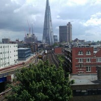 Photo taken at Travelodge London Southwark by Brian M. on 6/6/2012