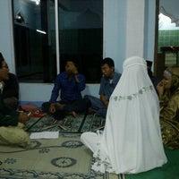 Photo taken at masjid al-baarokah dondong-pendem by Iaiakz H. on 8/13/2012