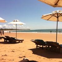 Photo taken at Praia de Taipus de Fora by Danielle A. on 4/23/2012