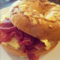 Photo taken at House of Bagel & Pretzel by Foodonfoot on 7/2/2012