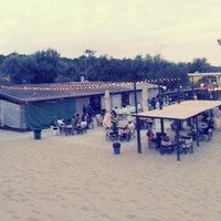 Photo taken at Bagno Hana-Bi by Stefano N. on 7/21/2012