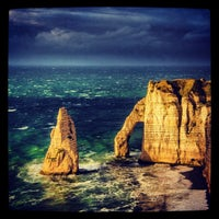 Photo prise au Étretat par Dmitry M. le8/25/2012