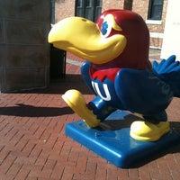 Photo taken at The University of Kansas by Cat C. on 3/3/2012