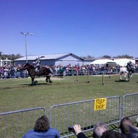 Photo taken at Pensacola Interstate Fairgrounds by Sabrina H. on 3/4/2012