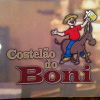 Photo taken at Costelão do Boni by Ananda M. on 8/19/2012