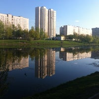 Photo taken at Мазиловский пруд by Sergey T. on 5/4/2012