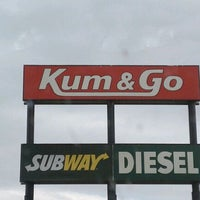 Photo taken at Kum & Go by Teri E. on 5/24/2012