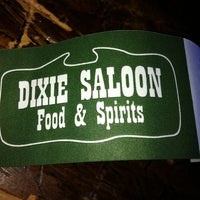 Photo taken at Dixie Saloon Food & Spirits by Emilee on 6/26/2012