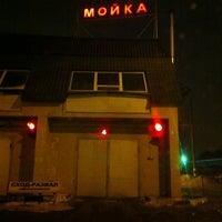 Photo taken at Мойка на Каширке by Cap on 2/10/2012