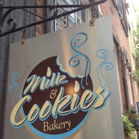Photo taken at Milk & Cookies Bakery by Jeff K. on 8/5/2012