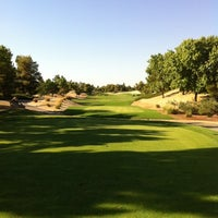 Photo taken at Desert Pines Golf Club and Driving Range by Andrew on 8/7/2012