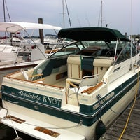 Photo taken at Cedar Island Marina by Mark T. on 7/24/2011