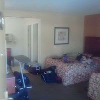 Photo taken at Jolly Roger Hotel by Elliot W. on 10/20/2011