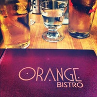 Photo taken at Orange Bistro by sim_charles on 7/12/2012