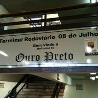 Photo taken at Terminal Rodoviário de Ouro Preto by Thiago F. on 1/17/2011