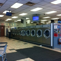 Photo taken at Bubbles III Laundromat by Lou C. on 1/14/2012