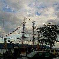 Photo taken at Newburgh Landing by Moo J. on 6/3/2012