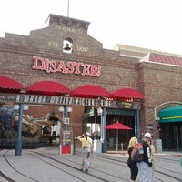 Photo taken at Disaster!: A Major Motion Picture Ride...Starring You! by Orlando Informer on 1/12/2012