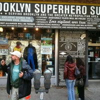 Photo taken at Brooklyn Superhero Supply Co. by Clifford S. on 10/23/2011