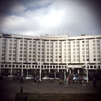 Photo taken at Radisson Slavyanskaya by Natalia B. on 6/9/2011