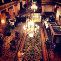 Photo taken at The Pfister Hotel by Dustin Z. on 7/10/2012