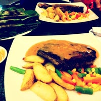 Photo taken at Joni Steak by Ajeng A. on 7/27/2012