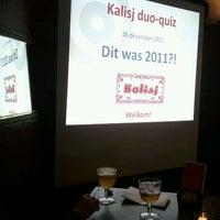 Photo taken at Cultuurcafé Kalisj by Robin D. on 12/16/2011