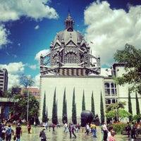 Photo taken at Plaza Botero by Eddie B. on 7/25/2012