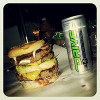 Photo taken at Papamalloy Burger by Echa Adinda S. on 7/4/2012