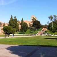 Photo taken at UCLA Bruin Plaza by Marianne V. on 2/18/2012