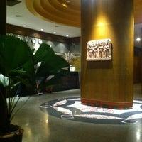 Photo taken at Golden Beach Hotel by Sergey D. on 3/5/2012