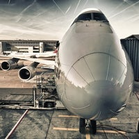Photo taken at Lufthansa Flight LH 462 by Kevin  I. on 7/29/2012