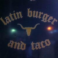 Photo taken at Latin Burger & Taco Truck by T.J. S. on 5/13/2012