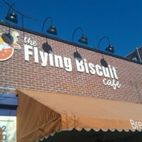 Photo taken at The Flying Biscuit by Jason C. on 12/3/2011