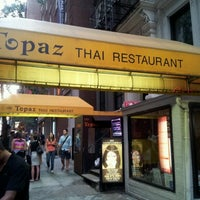Photo taken at Topaz Thai by Anupam B. on 7/18/2012