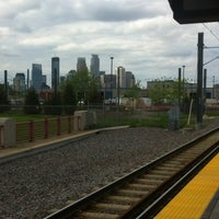 Photo taken at Franklin Avenue LRT Station by Rance C. on 5/11/2012